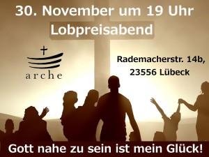 Lobpreisabend 30.11.2014